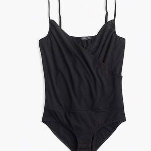 J. Crew Black Cami Bodysuit